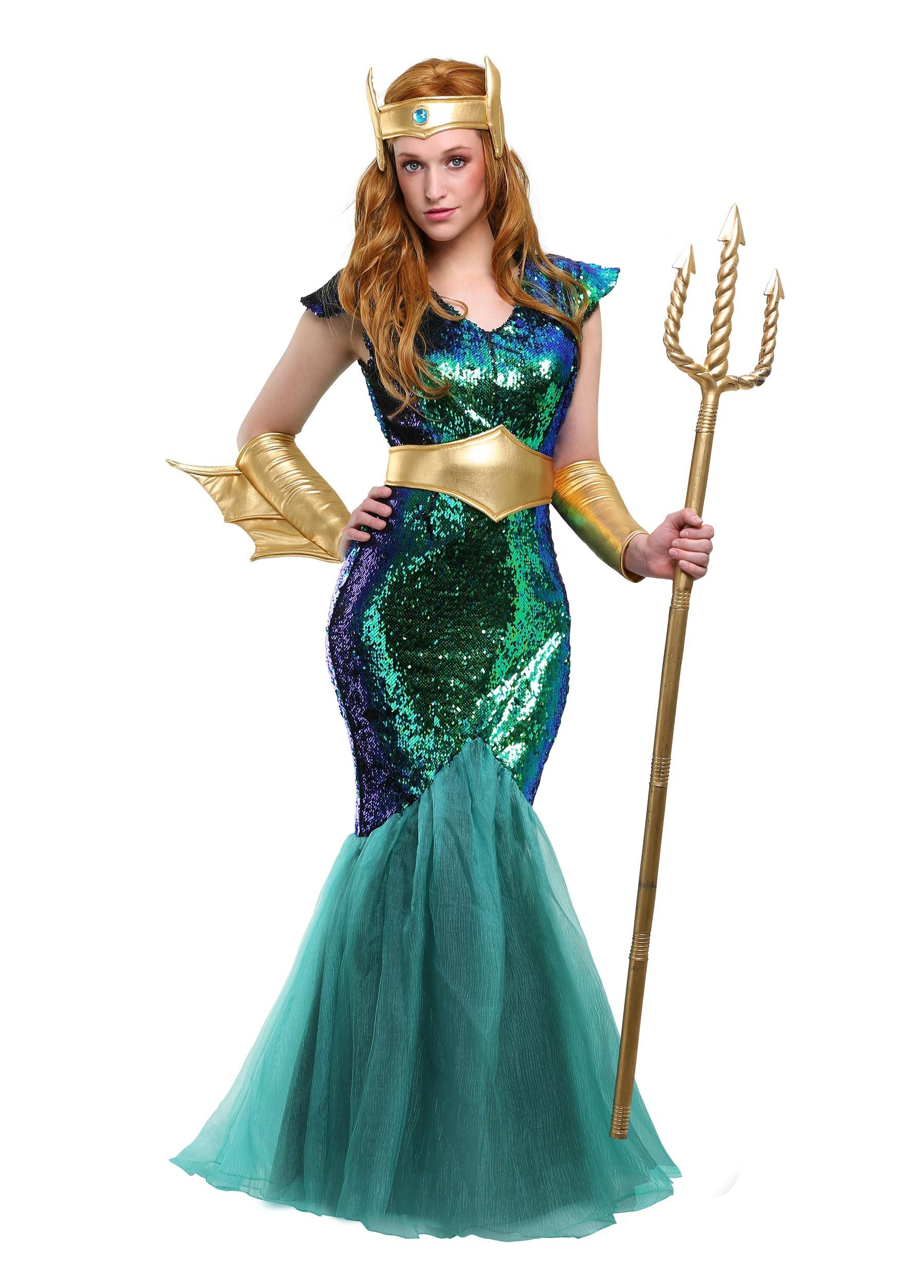 Sea Siren Women S Costume