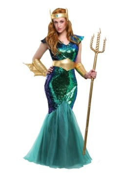 Women's Sea Siren Costume