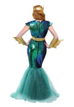 Women's Sea Siren Plus Size Costume 2