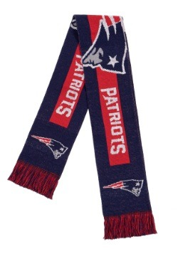 New England Patriots Big Logo Scarf