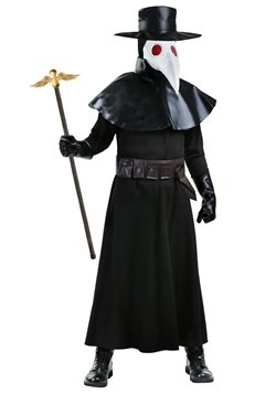 Adult Plague Doctor Costume Alt 1