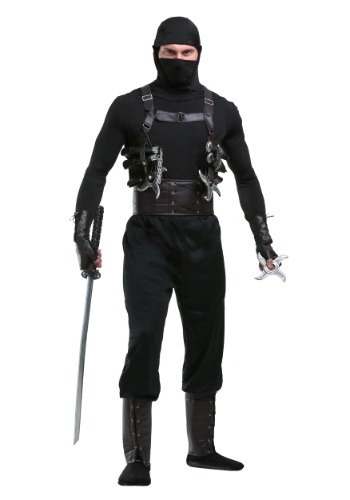 Ninja Assassin Men's Costume