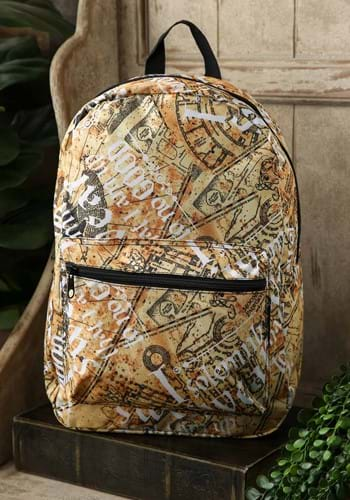 Harry Potter Marauders Map Backpack