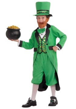 Lucky Leprechaun Kid's Costume