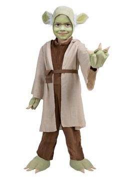 Star Wars Kids Yoda Costume Alt 1