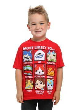 Yo-Kai Watch Boys Most Likely To Tee