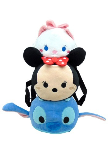 Tsum Tsum Stitch Minnie Marie Plush Backpack