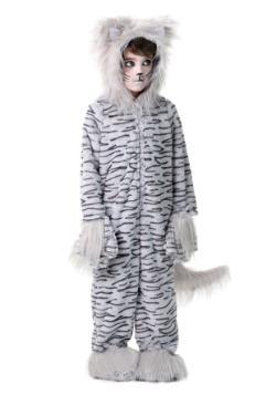 Deluxe Gray Cat  Costume For Kids