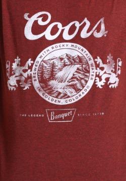 Miller Coors Vintage Brick Red Men's T-Shirt1