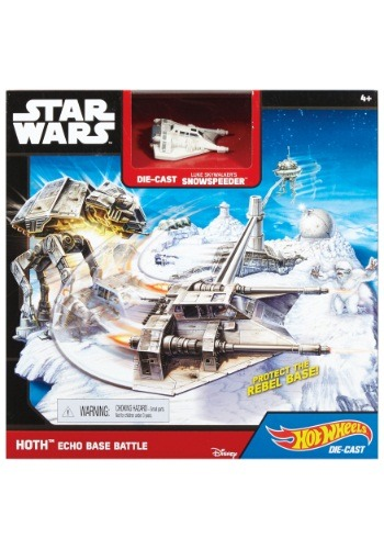 Hot Wheels Star Wars Hoth Echo Base Battle Playset