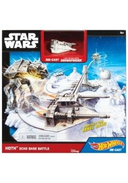 Hot Wheels Star Wars Hoth Echo Base Battle Playset