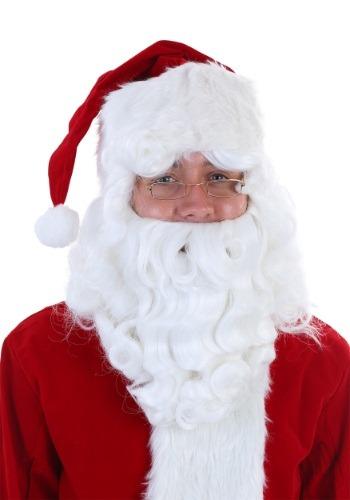 Deluxe Santa Claus Wig and Beard Set