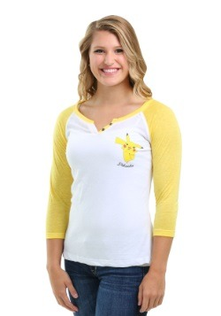 Pokemon Pikachu Jump Juniors Raglan