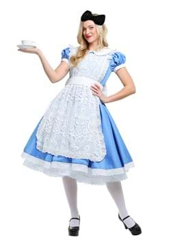 Women's Elite Alice in Wonderland Costume