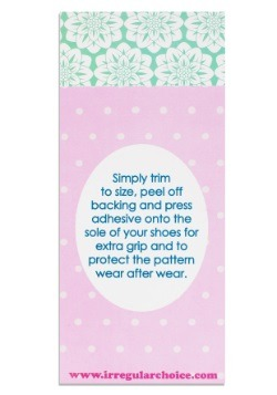 Irregular Choice Outsole Shoe Protector