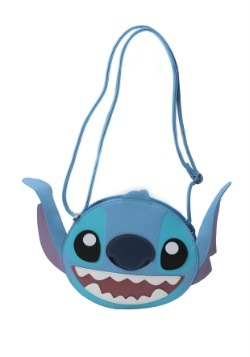 Lilo and Stitch Stitch Face Faux Leather Cross Body Bag