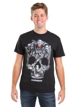 The Walking Dead Skull Montage T-Shirt
