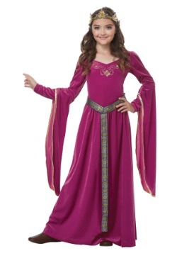 Girl's Medieval Princess Costume