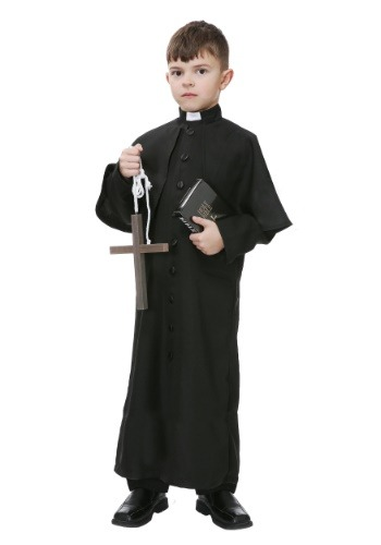 Deluxe Priest Boys Costume For Kids