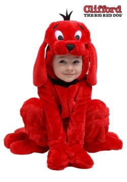 Clifford the Big Red Dog Costume for Toddlers 2