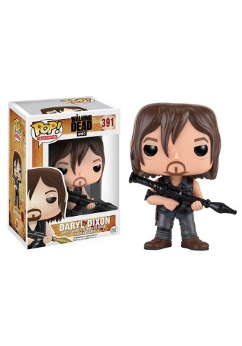The Walking Dead Daryl Rocket Launcher POP Vinyl Figure