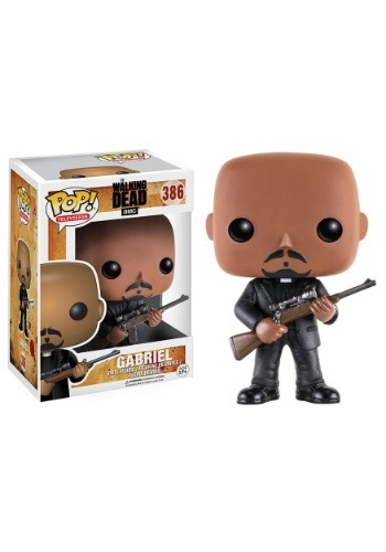 The Walking Dead Gabriel POP Vinyl Figure