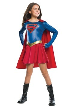 Girls TV Supergirl Costume