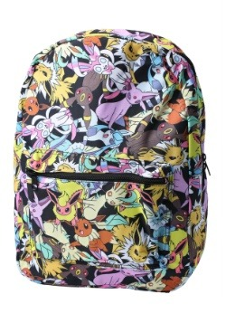 Pokemon Eevee Evolution All Over Print Backpack