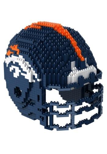 Denver Broncos 3D Helmet Puzzle