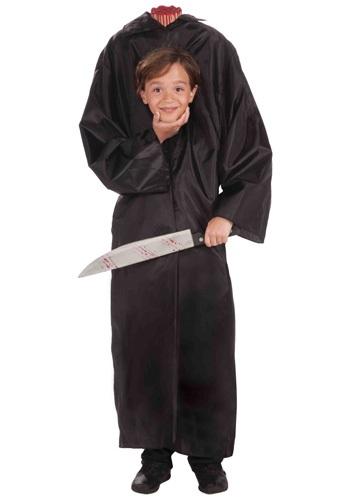 Kids Headless Boy Costume