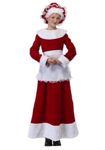 Girl's Mrs. Claus