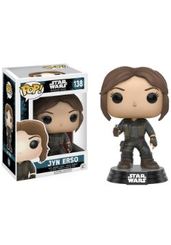 POP Star Wars Rogue One Jyn Erso Bobblehead Vinyl Figure