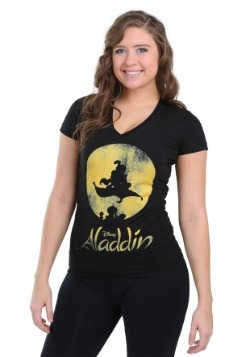 New World Aladdin Juniors V-Neck Tee