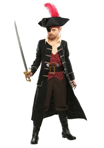 Boys Ship Captain Costume
