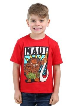Moana Maui Red Toddler Boys Shirt