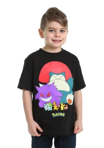 Pokemon Group Shot Boys T-Shirt
