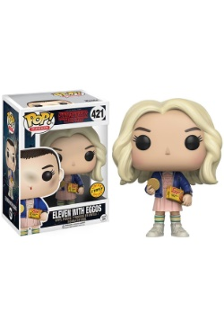 POP Stranger Things Eleven with Eggos Vinyl FIgure