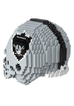 Oakland Raiders 3D Helmet Puzzle3