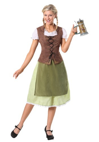 German Alpine Beauty Womens Costume