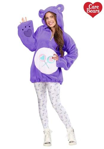 Care Bears Women's Deluxe Share Bear Hoodie Costume