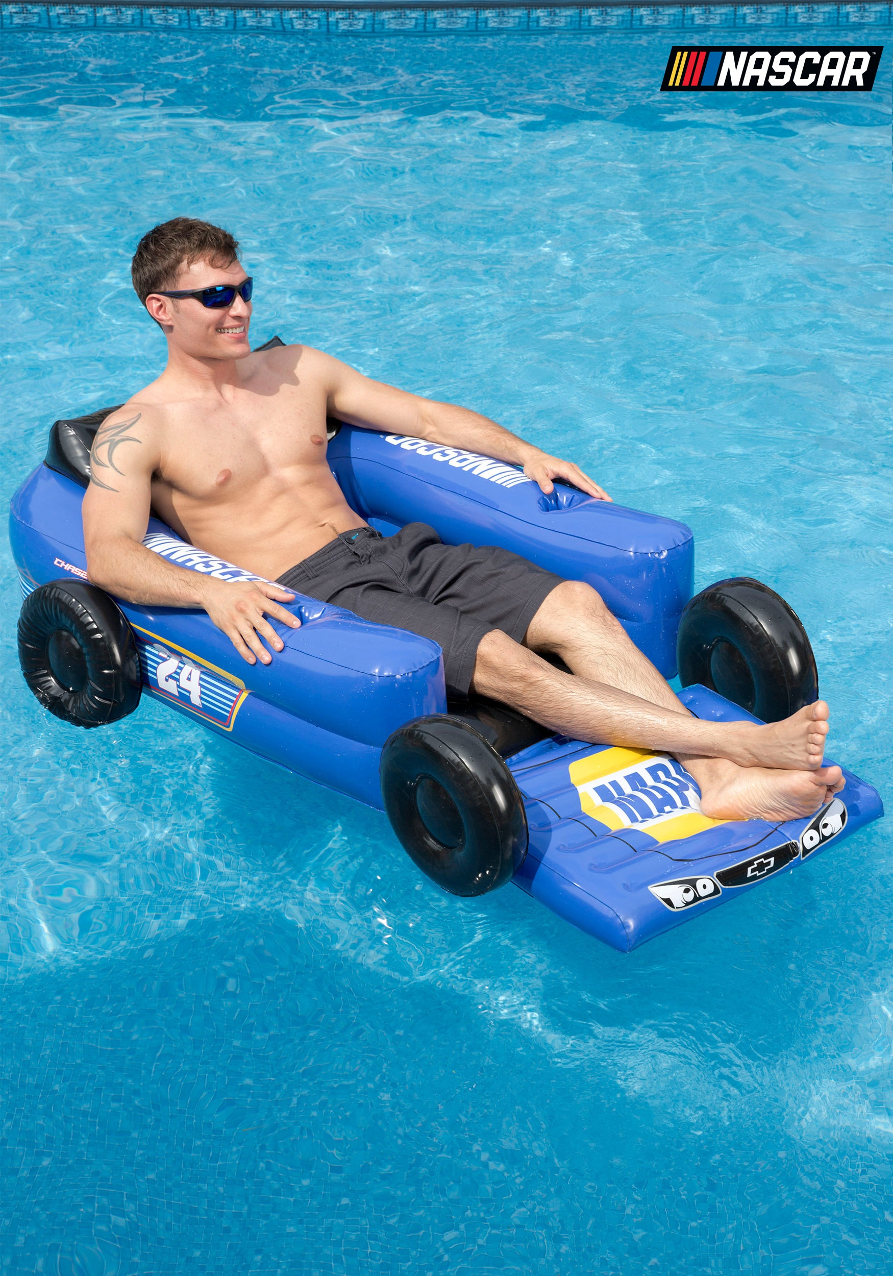 Chase Elliott NASCAR Pool Lounger Chair