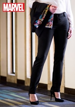 Marvel Vintage Print Womens Trousers
