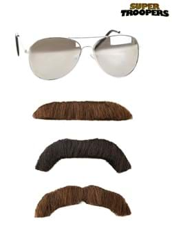 Super Troopers Adult Mustache and Sunglasses Kit
