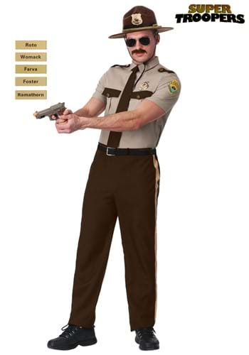 Super Troopers State Trooper Costume