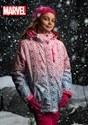 Marvel Avengers All Over Print Girls Ski Coat