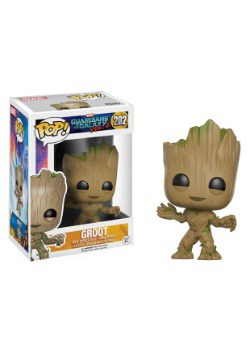 POP Guardians 2 Groot Bobblehead Figure