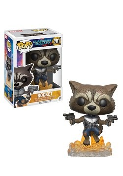 POP Guardians 2 Rocket Raccoon Bobblehead Figure