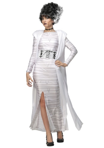 Women's Bride of Frankenstein Costume Dress