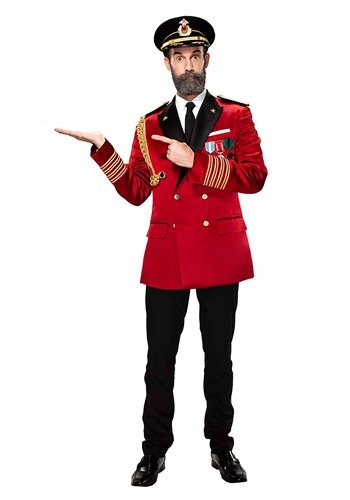 Mens Captain Obvious Costume