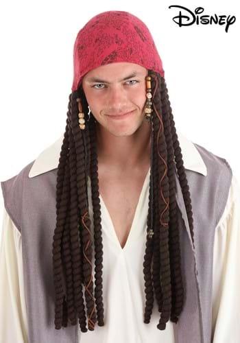Jack Sparrow Adult Bandana and Dreads Set